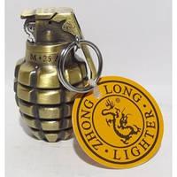 Кремниевая зажигалка в виде гранаты.