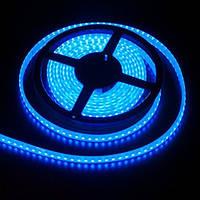 Лента светодиодная SMD3528 120LEDх4LM 9,6W голубая влагозащищенная