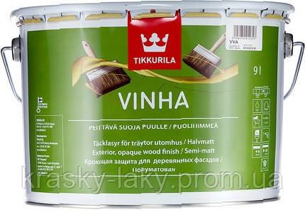 Краска-антисептик Vinha Tikkurila Винха, 2.7л