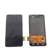 Дисплей Alcatel OT6010/OT6010D/6010 черный, с тачскрином