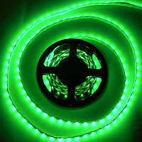 Лента светодиодная SMD3528 120LEDх4LM 9,6W зеленая