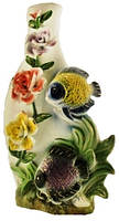 Ваза фарфор рыба 4379