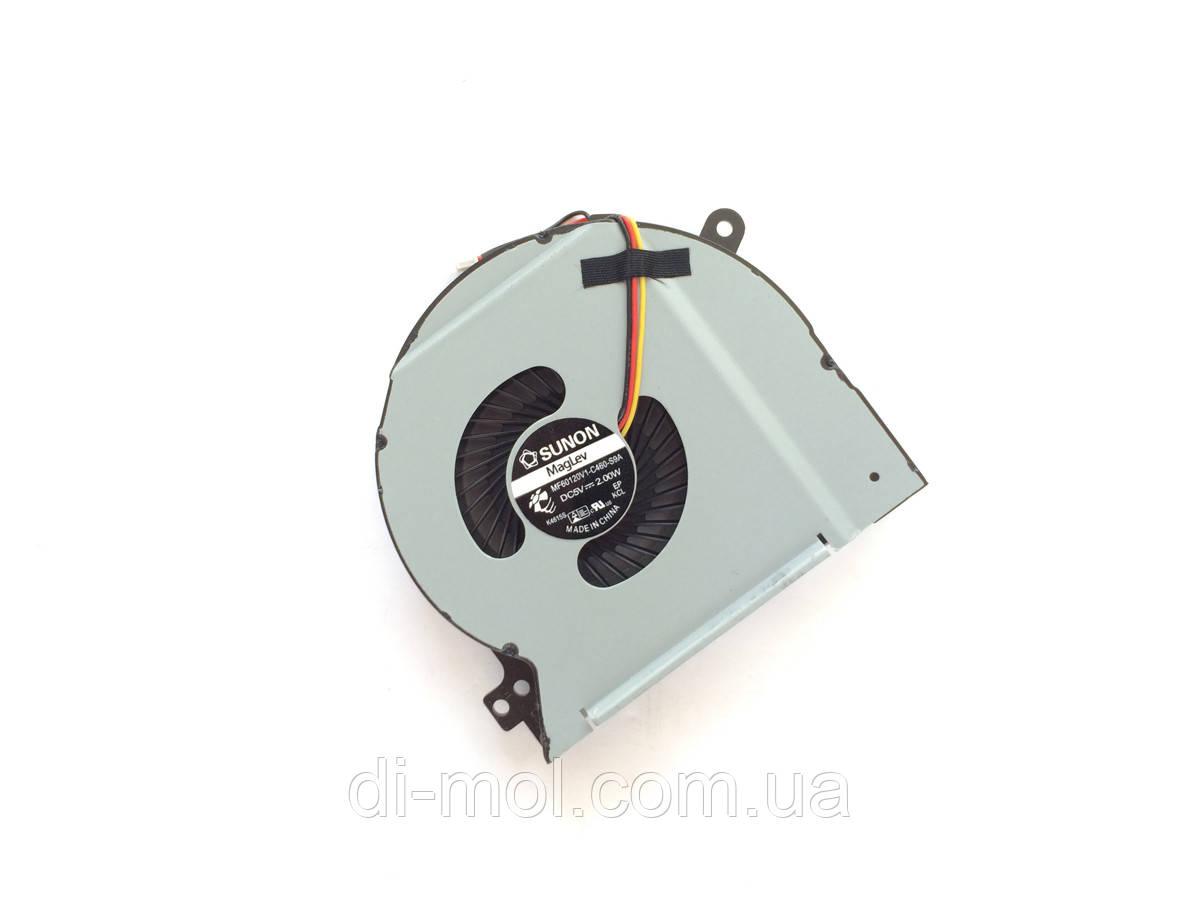 Вентилятор для ноутбука Dell XPS 15, XPS L501X series, 3-pin