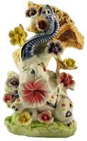 Ваза фарфор слон 4363