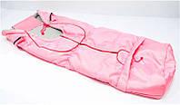 Гр Спальный мешок на флисе (1) цвет розовый