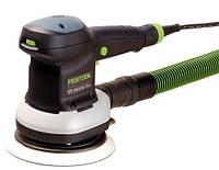 FESTOOL ETS 150/5 EQ-Plus, шлифовальная машинка с круглой тарелкой