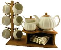 Набор чайный фарфор 15А091