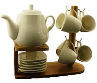 Набор чайный фарфор 1387