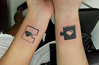 Идеи для парных татуировок