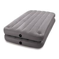 Велюровая надувная кровать 67743 INTEX