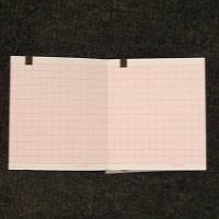 Бумага для электрокардиографа Schiller Cardiovit AT 101, 80 мм х 70 мм х 315 листов.