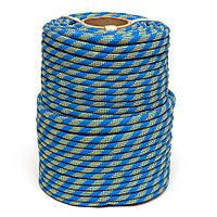 Статический шнур SINEW MASTER 10мм (сине-желтый)