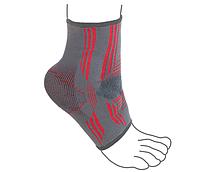 Бандаж на голеностопный сустав вязанный эластичный усиленный R7105