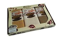 Набор вафельных полотенец Coffee 45х70 - 3 шт Lotus