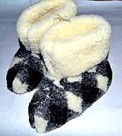 Чуни классические из овчины, фото 1