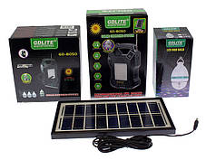 Универсальная солнечная система GDLITE GD-8023 с функцией MP3 плеера и FM радио, фото 2