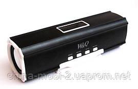 Портативная колонка Digital Speaker W&Q S-102, Black, фото 2