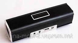 Портативная колонка Digital Speaker W&Q S-102, Black, фото 3