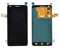 Дисплей Alcatel OT6033X, черный, с тачскрином