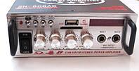 Усилитель (ресивер) UKC SN-808AC + Karaoke,  MP3/SD/USB/AUX/FM 12v / 220v