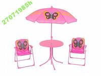 Детский летний набор стол + 2 стула