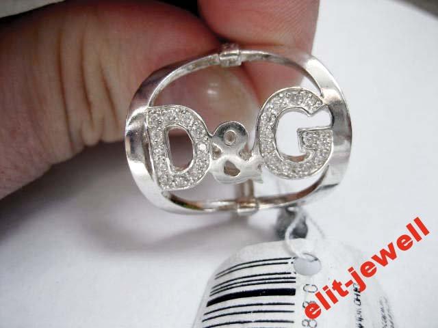 Широкое кольцо Дольче Габбана - 18 размер