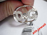 Широкое кольцо Дольче Габбана - 18 размер, фото 1