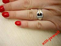 Кольцо Диор проиводства Украина 16 размер, фото 1