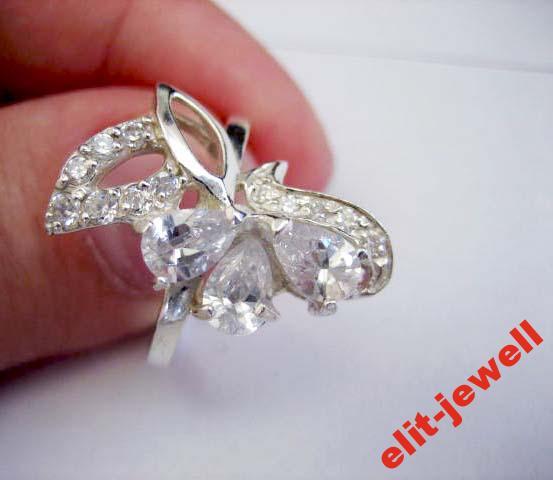 Серебряное кольцо Вероника
