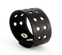Кожаный качественный браслет