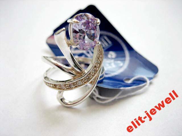 Серебряное кольцо Самшит - 18 размер