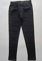 Детские лосины-штаны. 9-13 лет. Черный. Оптом.