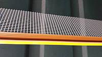 Профиль оконный примыкающий под цвет окна золотой дуб с армирующей сеткой и резиновой манжетой 2.5 м.п.