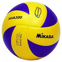 Мяч волейбольный Клееный PVC MIK VB-4515 MVA-300 (PVC, №5, 5 сл., клееный)