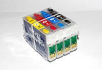 Перезаправляемые картриджи ПЗК Epson T0711-T0714,T0891-T0894 SX200,DX5000...