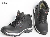 Зимние кожаные мужские ботинки - К 5 бел