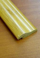 Бамбуковый молдинг кромочный, темный
