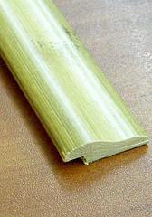 Бамбуковый молдинг кромочный, светло-бежевый