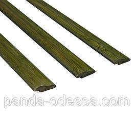 Бамбуковый молдинг кромочный, зеленый