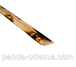 Бамбуковый молдинг кромочный, черепаховый светлый
