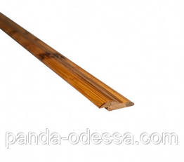 Бамбуковый молдинг кромочный, черепаховый темный