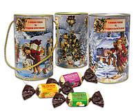 Тубус с конфетами «Подарок зимы», фото 1