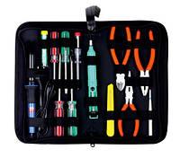 Набор инструментов ZD-905 (отвертки, паяльник, оловоотс, нож, кусачки, плоскогубцы)