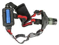 Аккумуляторный налобный фонарь Police 6671