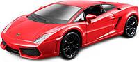 Авто-конструктор LAMBORGHINI GALLARDO LP560-4 2008 красный металлик, 1:32 Bburago (18-45128)