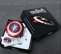 CУПЕРЦЕНА! Универсальный повербанк (Powerbank) Капитан Америка Marvel оригинальный дизайн  и качество