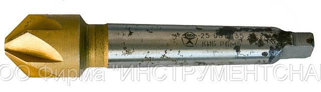 Зенковка 25,0 мм, к/х, угол 90 гр., Р6М5