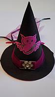 Шляпка на Хэллоуин летучая мышь