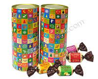 Тубус с конфетами - корпоративные бизнес сувениры и подарки, фото 1