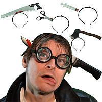 Нож в голову - изюминка вашего наряда на хэллоуин!